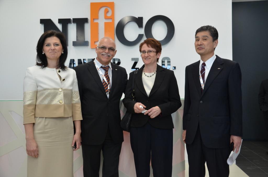 Nifco - otwarcie zakładu