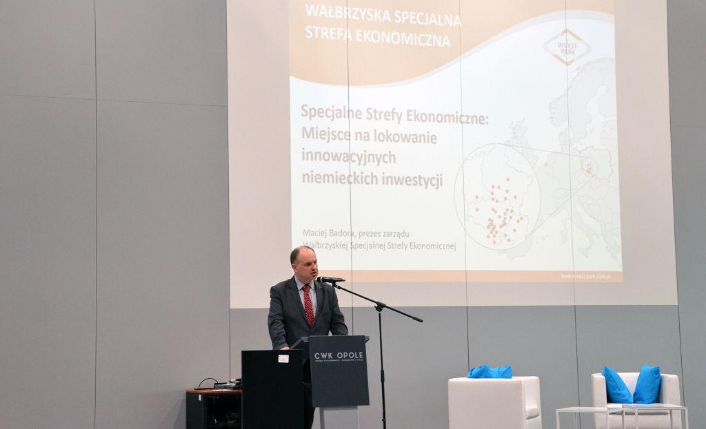 prezes WSSE Maciej Badora 1