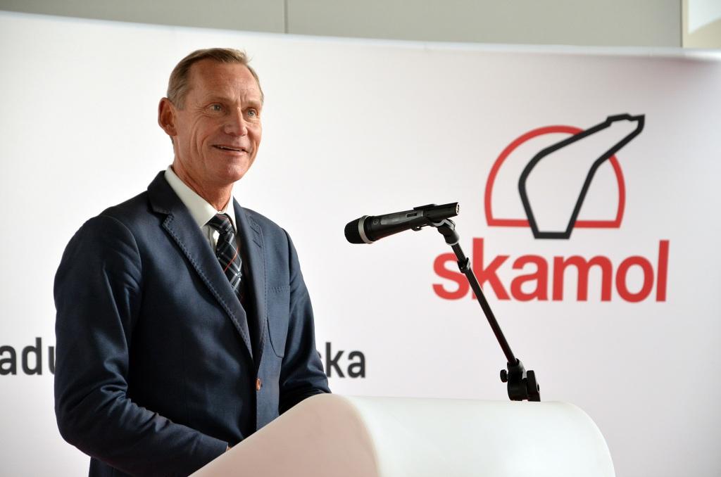 Bo Rygaard - prezes Skamol